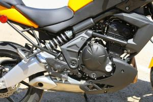 2012 650 Adventure Touring Shootout Kawasaki Versys Engine