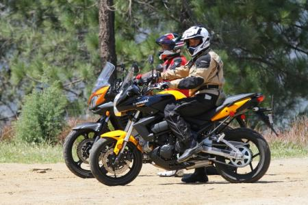 2012 650 Adventure Touring Shootout Versys and V-Strom