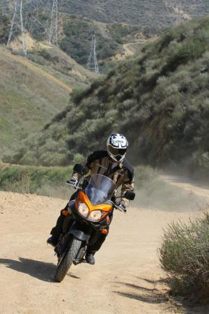 2012 650 Adventure Touring Shootout Suzuki V-Strom Off-Road