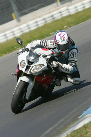 2012 BMW S1000RR Knee Down
