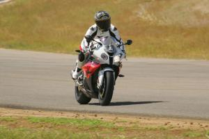 2012 BMW S1000RR on the track