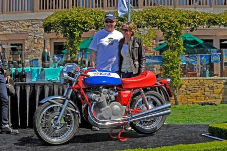 2012 Quail Motorcycle Gathering Best of Show winner Simon