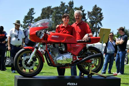 2012 Quail Motorcycle Gathering Giovanni and Valentina Magni