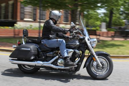 2012 V Star 1300 Tourer Action Right