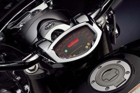 2012 V Star 1300 Tourer Gauges