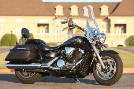 2012 V Star 1300 Tourer Profile