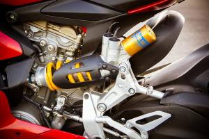 2012 Ducati 1199 Panigale S rear suspension