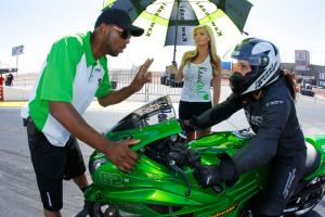 Kawasaki ZX-14R Zero to Hero Rickey Gadson and Angie Young