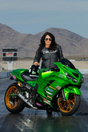 Kawasaki ZX-14R Zero to Hero Angie Young