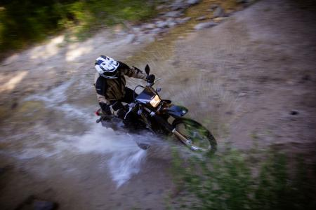 2012 Suzuki DRZ-400S Water Crossing