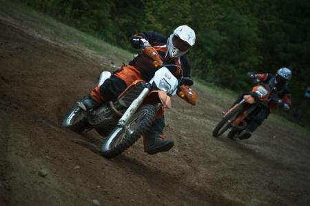 Riding Dirt Bikes in Ontario