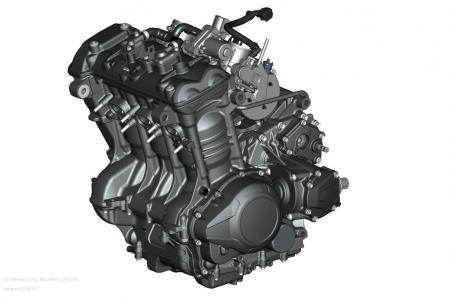 2013 Triumph Trophy Engine