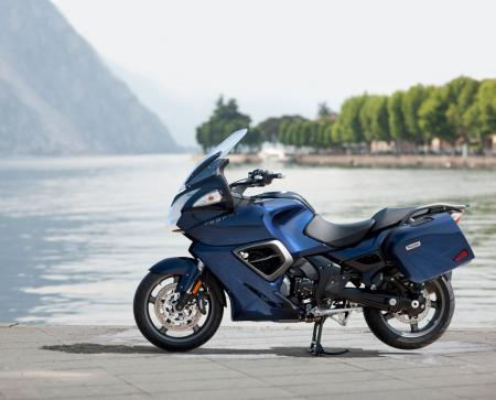 2013 Triumph Trophy Pacific Blue