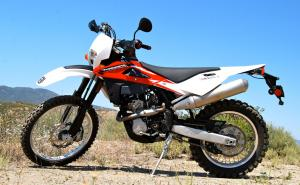 2012 Husqvarna TE250 Profile Left