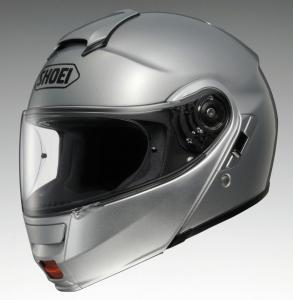 Shoei NEOTEC Silver Front Left