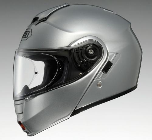 Shoei NEOTEC Silver Profile