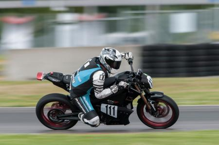 Racing Electric Motorcycles Portland International Raceway