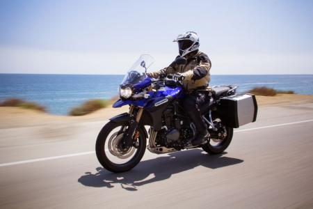 2012 Triumph Tiger Explorer highway
