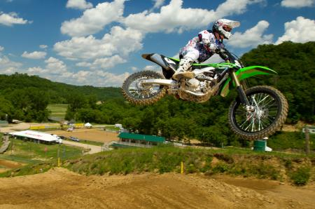 2013 Kawasaki KX250F Big Air