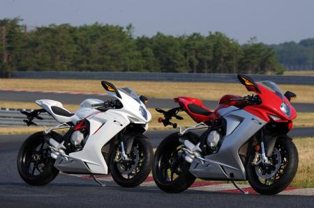 2013 MV Agusta F3 675 Pastel White and Red/Silver