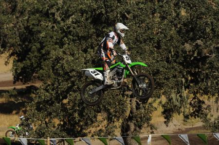 2013 Kawasaki KX450F Action Big Air