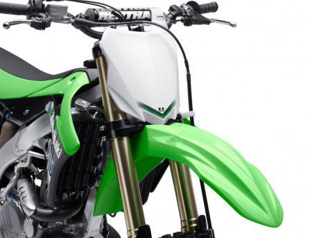 2013 Kawasaki KX450F Fender and Number Plate