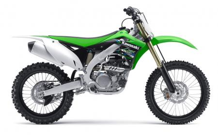 2013 Kawasaki KX450F Profile Right