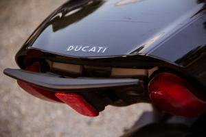 2012 Ducati Diavel Cromo Passenger Grab Handle