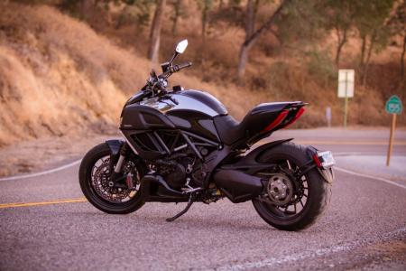 2012 Ducati Diavel Cromo Left Side