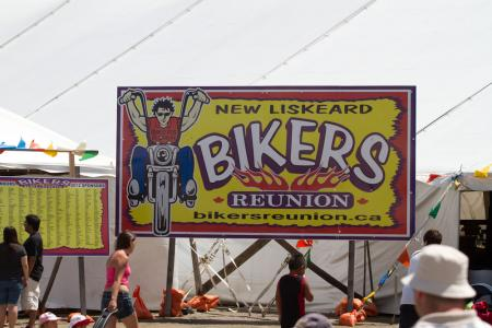 Bikers Reunion Sign