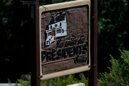 Presidents Suites Sign
