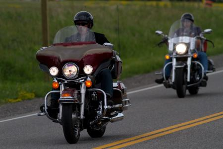 Riding in Northern Ontario