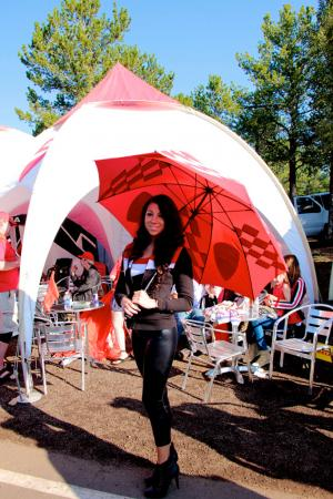 2012 Pikes Peak Hillclimb Umbrella Girl