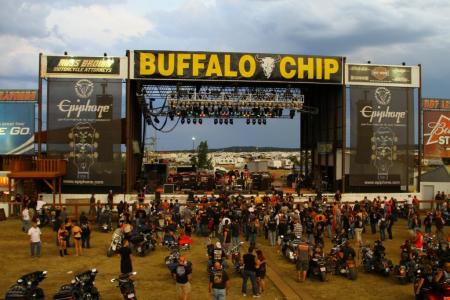 2012 Sturgis Motorcycle Rally Buffalo Chip Concert
