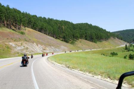 2012 Sturgis Motorcycle Rally Legends Ride