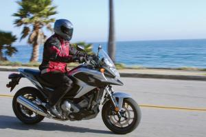 2012 Honda NC700X Action Right