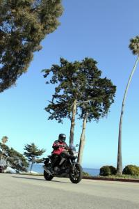 2012 Honda NC700X Action Front Right