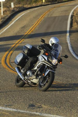 2012 Honda NC700X Left Turn