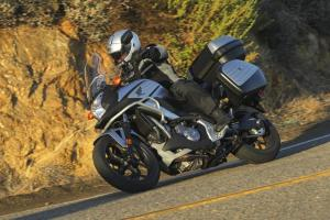 2012 Honda NC700X Action Left