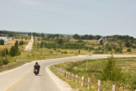 Beautiful Manitoulin Motorcycle Riding