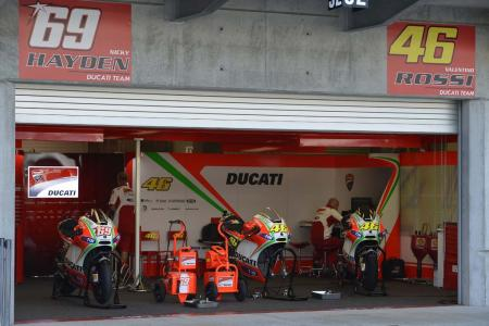 2012 Indianapolis Grand Prix Ducati Garage
