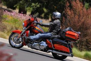 2013 Harley Davidson CVO Ultra Classic Electra Glide Action