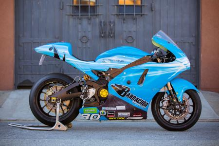 Lightning Electric Motorcycle Profile Right