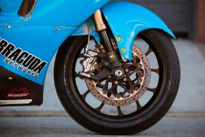 Lightning Electric Motorcycle Front Wheel