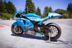 Lightning Electric Motorcycle Left Rear