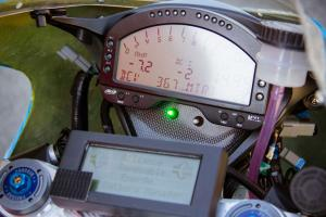 Lightning Electric Motorcycle Gauges