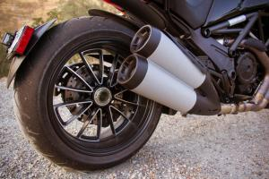 2012 Ducati Diavel Cromo Rear Wheel