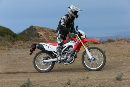2013 Honda CRF250L Action 02