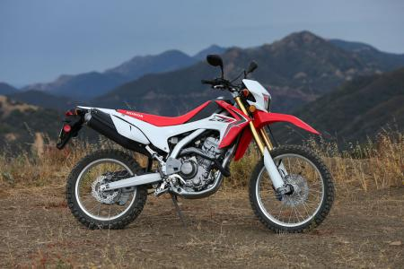 2013 Honda CRF250L Profile Right