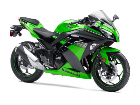 2013 Kawasaki Ninja 300 Front Right